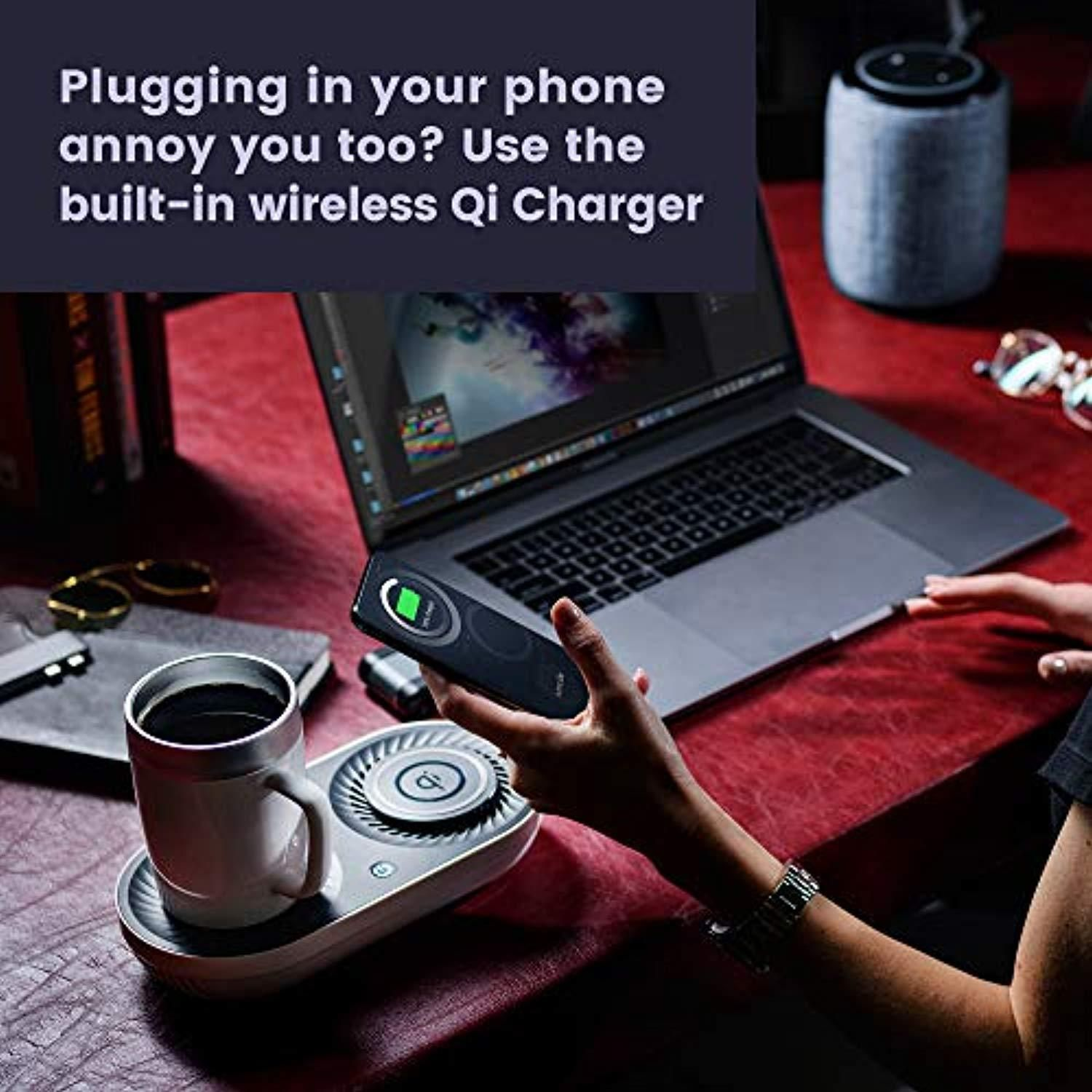Nomodo Wireless Qi-Certified Fast Charger for Cellphones and