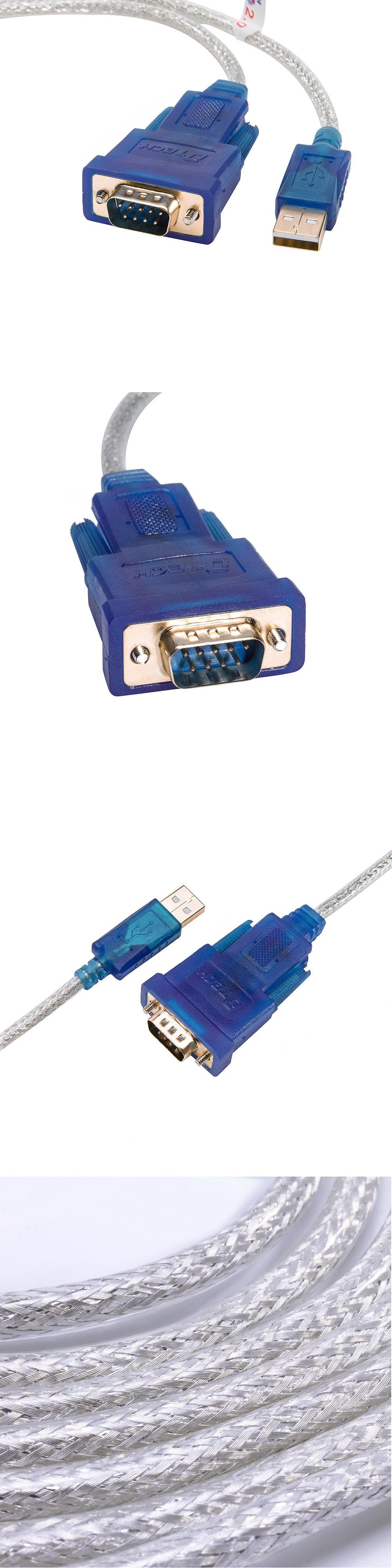 Parallel Serial and PS 2 116848: Dtech Ftdi Serial To Usb Adapter