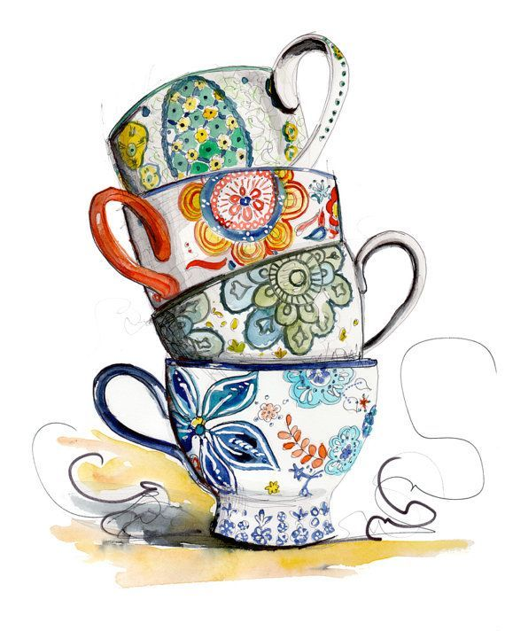 Fancy Coffee Cup Clip Art Images Gallery