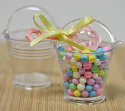 Photo of Small Clear Plastic Favor Pails – Top Sellers