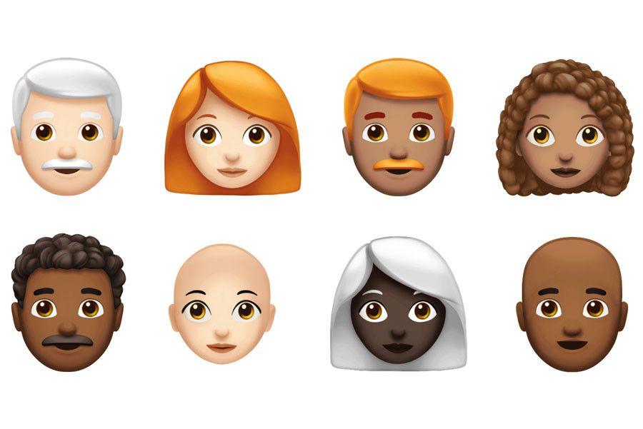 Apple S New Emojis Include Red Hair Cupcakes Superheroes More