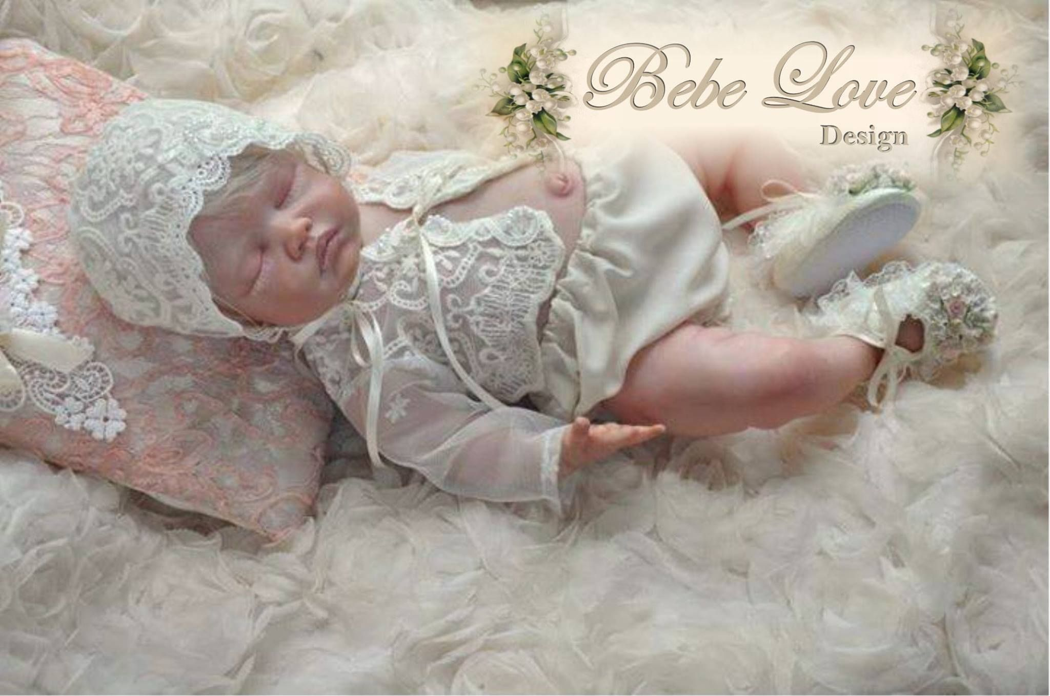 Bebe Love Design by Shauena. Vintage Shabby Chic Baby Clothing