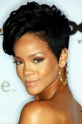 Rihanna rehab hairstyle google search pixie bob short image detail for picture of rihanna hair rihanna short hair picture pmusecretfo Gallery