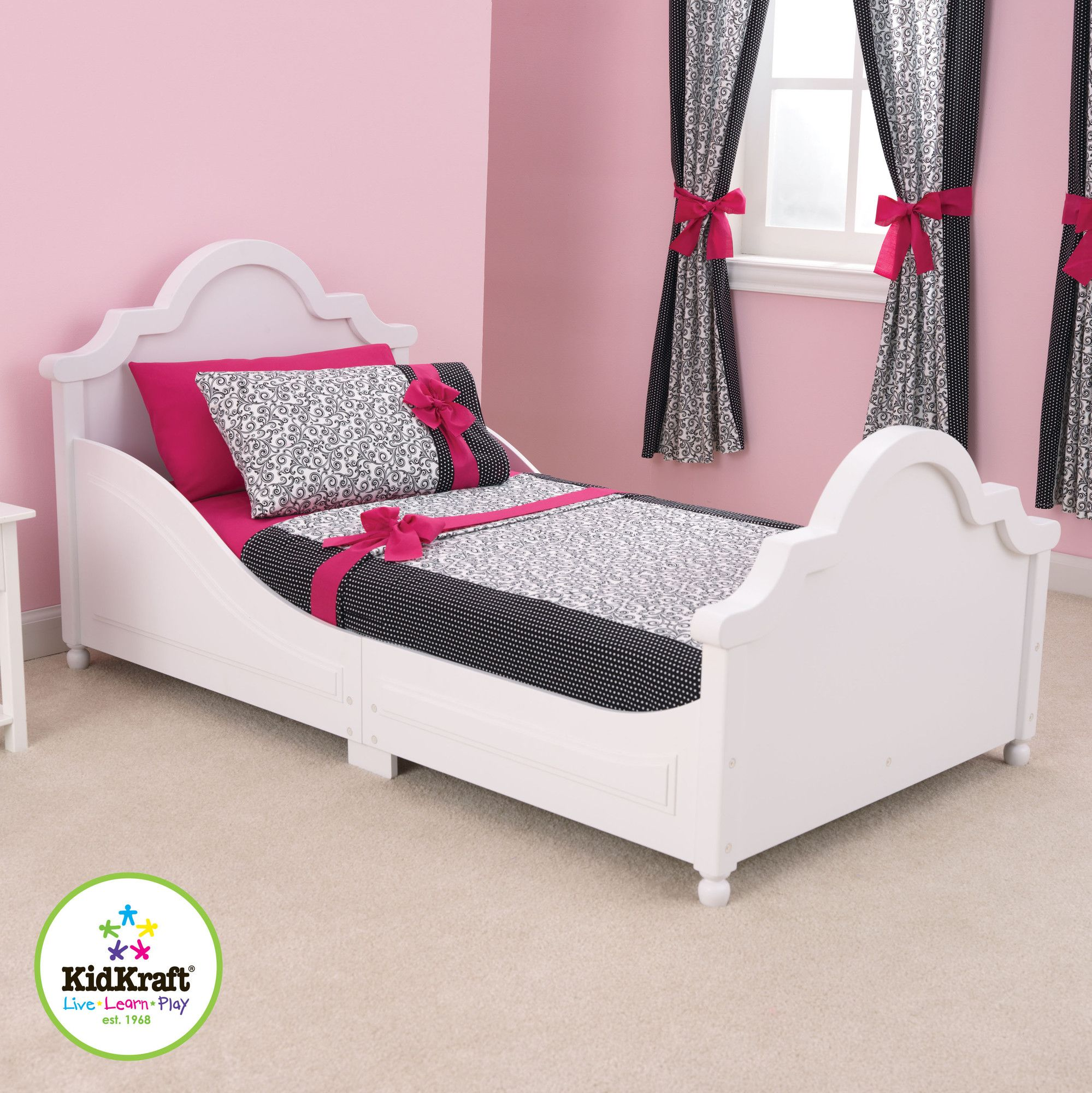 Look At This KidKraft White Raleigh Toddler Bed On Today