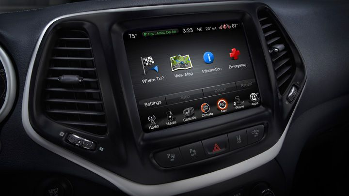 2014 Jeep Limited Shown With Uconnect 8 4 Inch Touchscreen