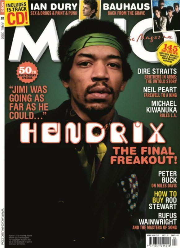 Mojo April 2020 In 2020 Brothers In Arms Jimi Hendrix
