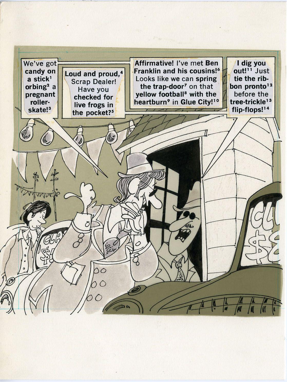 Paul Coker Jr Graphic Book Cartoons Comics Comic Books