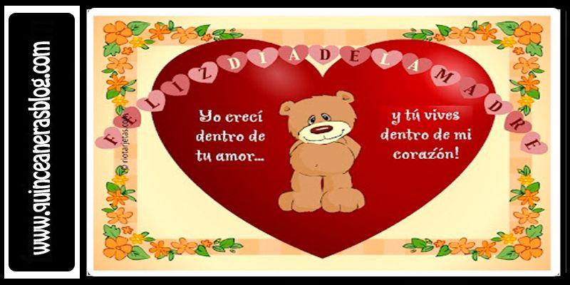 frases del dia de las madres   ... 800 × 400 Imágenes para dedicar a mamá Feliz día de la madre 2013