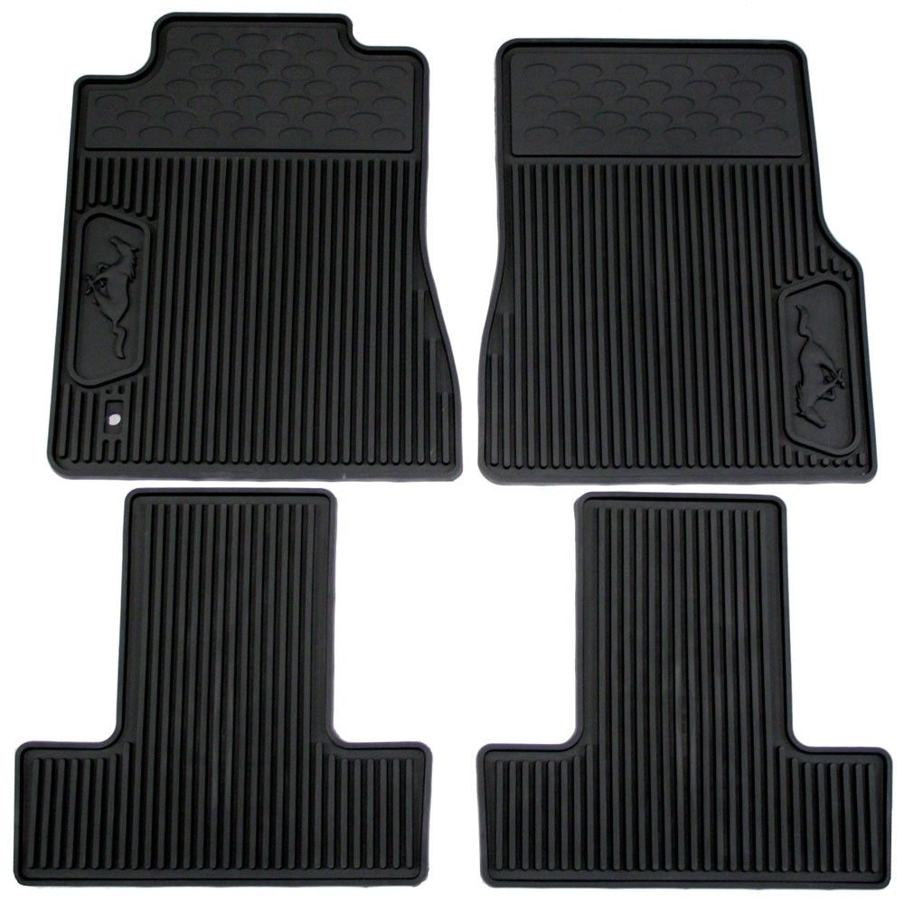 Ford Floor Mat Rubber Set 2005 2009 2005 Ford Mustang 2009 Ford