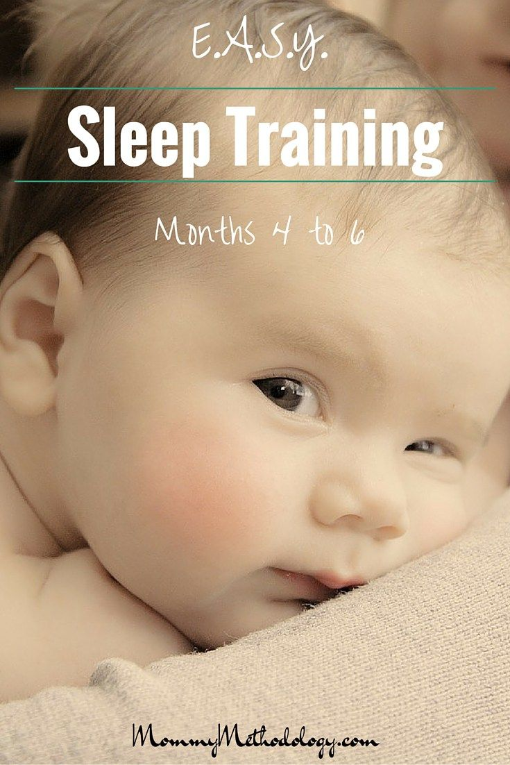 Easy sleep training month to month happy mom