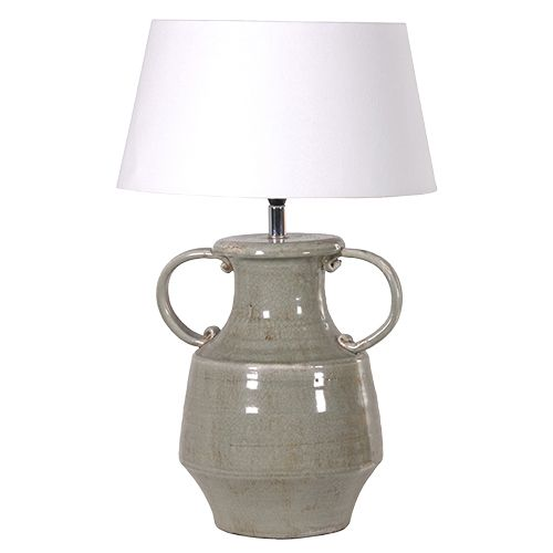 Olive Green Table Lamp With Handles http://www.la-maison-chic.co.uk/Item/Olive_Green_Table_Lamp_With_Handles