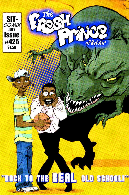 Fresh prince of belair 1990s comics comic covers