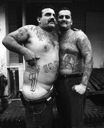 Cholo Tattoo - Barrio Azteca? - La EME? Norteños 18? Sureños 13