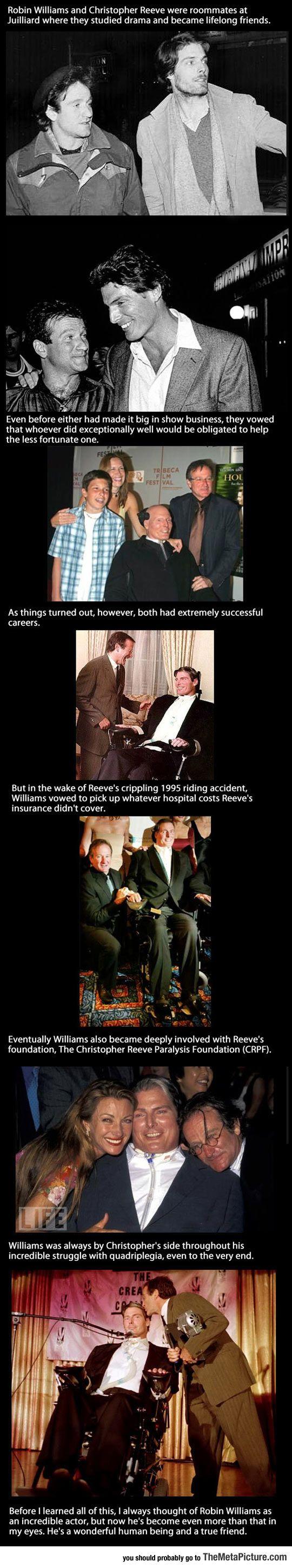 Robin Williams Was A True Best Friend Robin Williams Robin Inspirational People