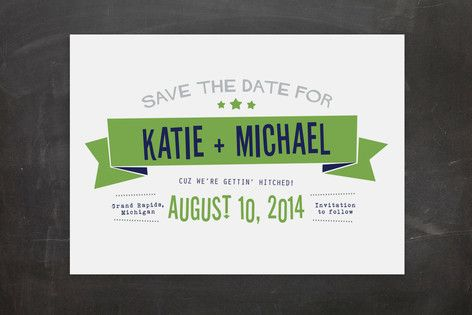 Afterparty Save the Date Postcards