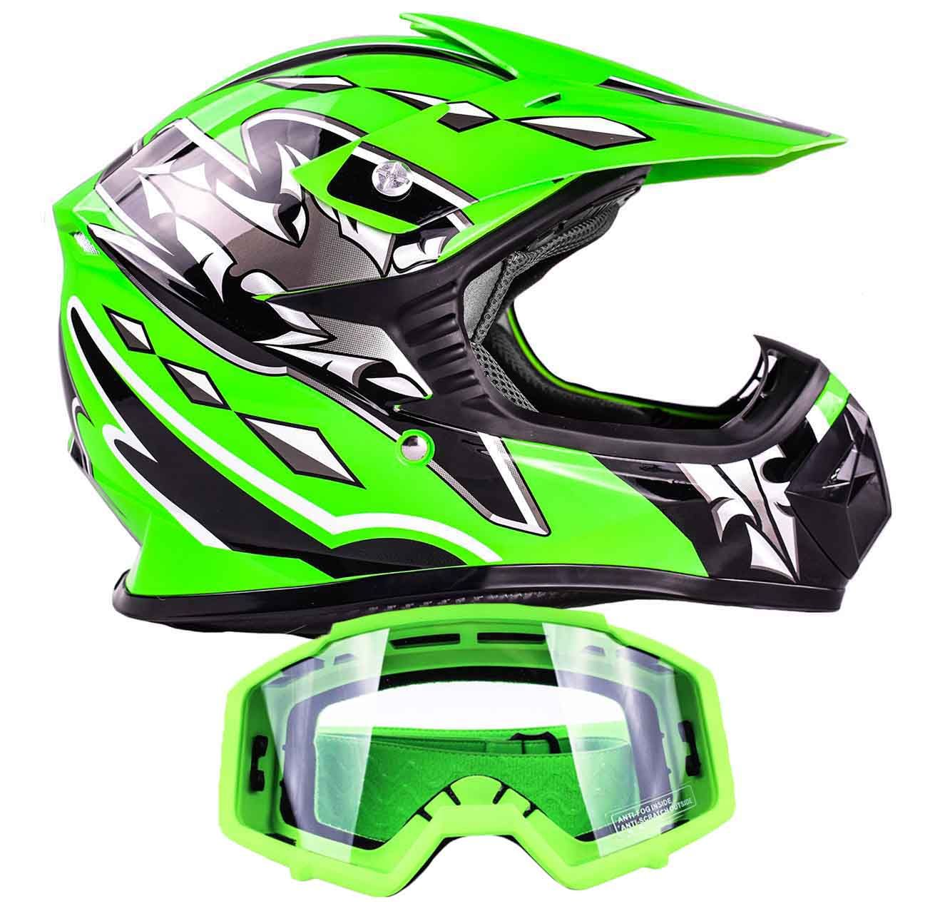 Youth Dirt Bike Helmets Folding Mountain Bike Dirt Bike Helmets Helmet