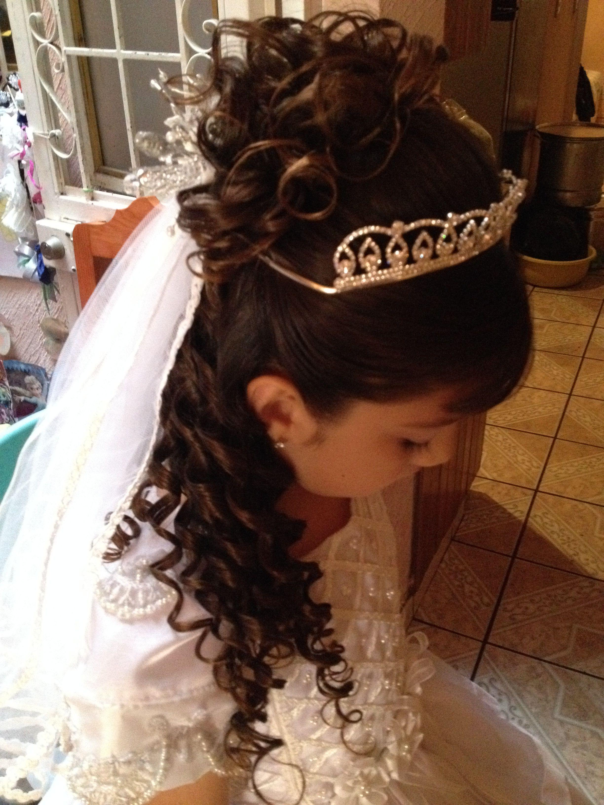 Imagen perfecta peinados niña comunion fotos Galería de cortes de pelo Consejos - Pin en Peinados para niña