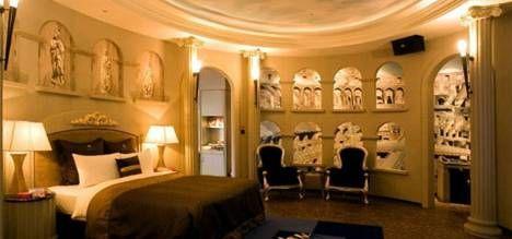 Roman Inspired Round Bedroom Boudoir Pinterest Bedroom