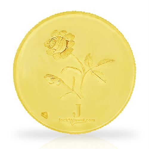 Golden Leaf 5 Gm Gold Coin Rate