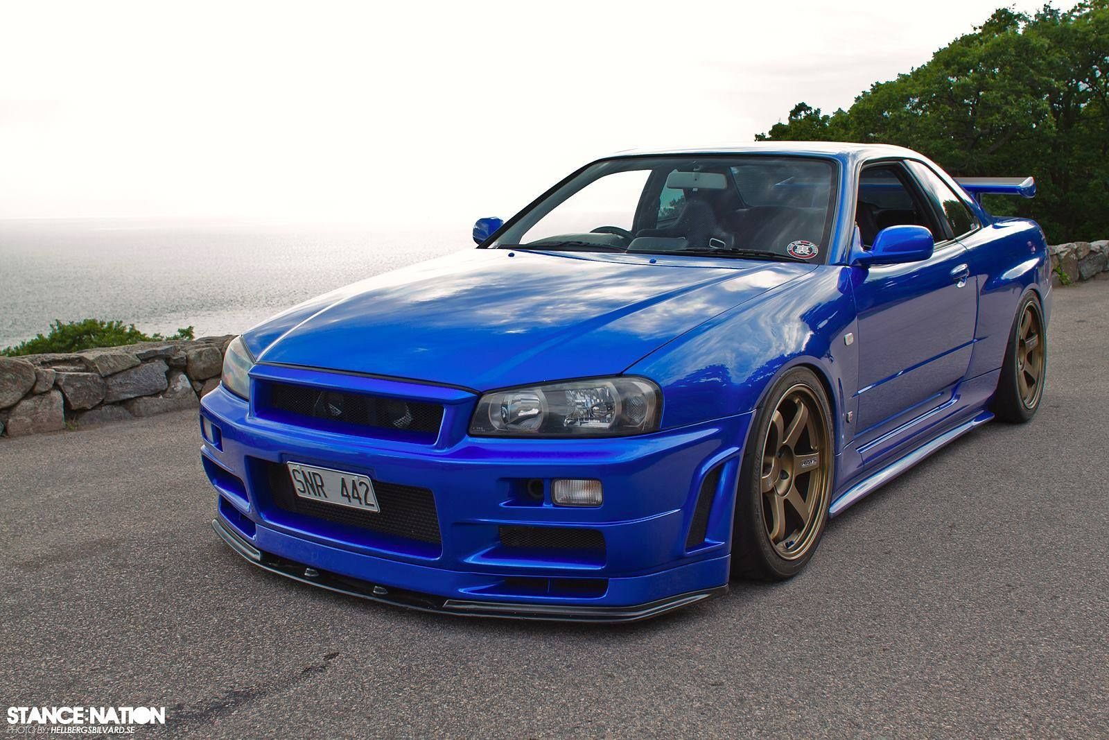 Beautiful bayside blue r34 nissan skyline gt r r34 while a lot of hype has been around the current generation nissan gt r this past month we found a bayside blue 2001 skyline gt r originally vanachro Choice Image