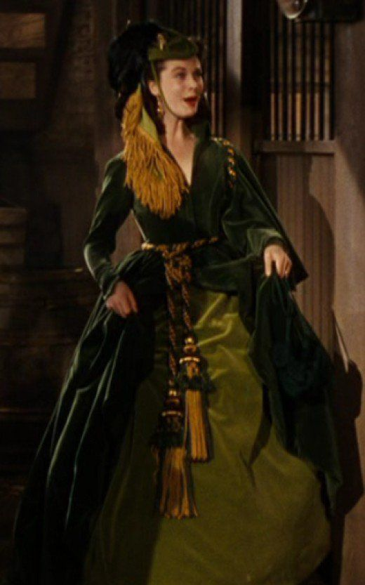 Vivien Leigh as Scarlett Ou0027Hara in Gone with the Wind. Probably the most  sc 1 st  Pinterest & Top Ten Best Costume of Scarlett Ou0027Hara | Top ten Costumes and ...