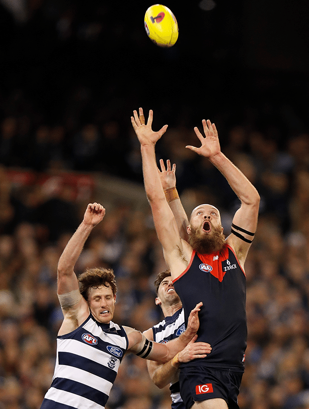 In pictures Melbourne v Geelong Melbourne, Geelong