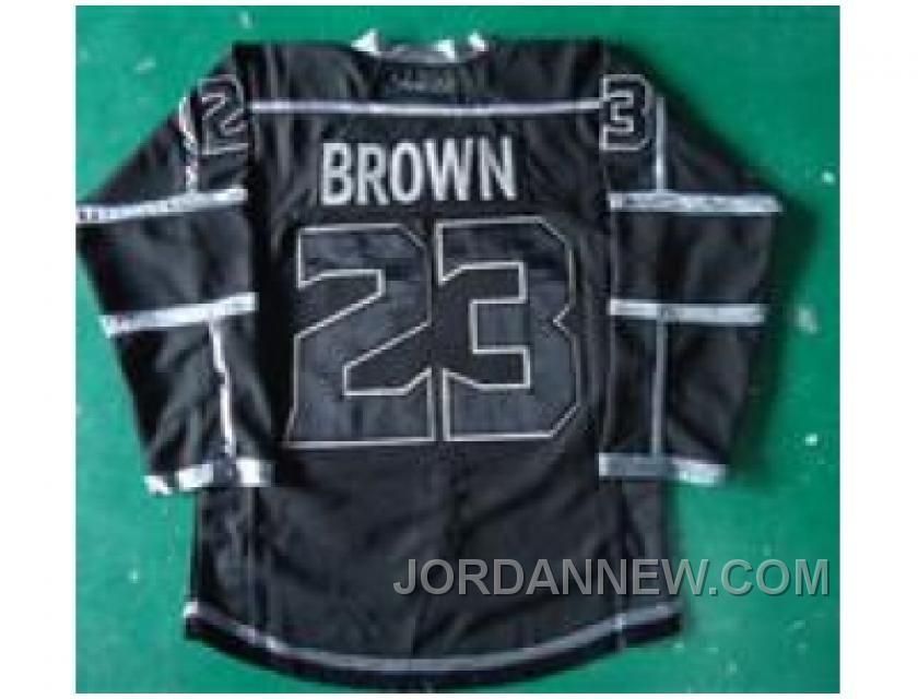 f7889939fef7 ... backer ash t shirt 4ef18 0e716  discount code for mens los angeles kings  jersey 23 dustin brown hockey jerseys white black purple