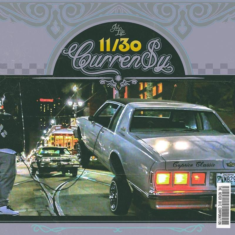 Curreny andretti 1130 cover tracklist currensy