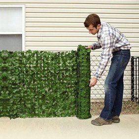 ULAND Artificial Boxwood Greenery Hedges Panels, Decorative Privacy Fence Screening, UV proof, 100% Fresh PE, 20''x20''/pc (Pack of 12, Green Jade) - Walmart.com