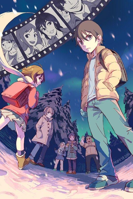 Erased Anime art, Manga anime, Anime shows
