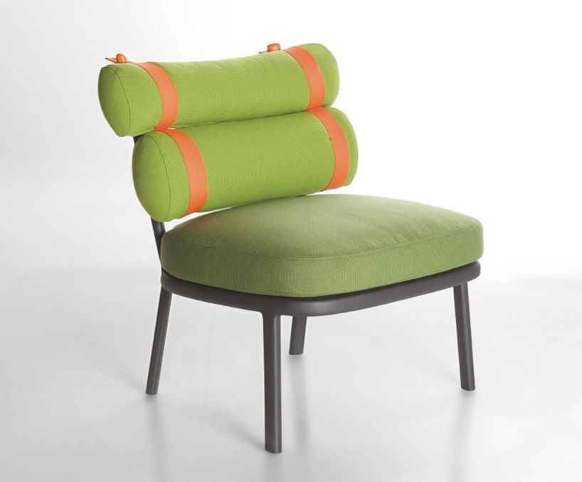 Parfait Kettal Roll Outdoor Seating By Patricia Urquiola