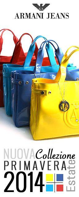 La nuova collezione di borse Armani Jeans primavera estate 2014 ... 354858e5cb3