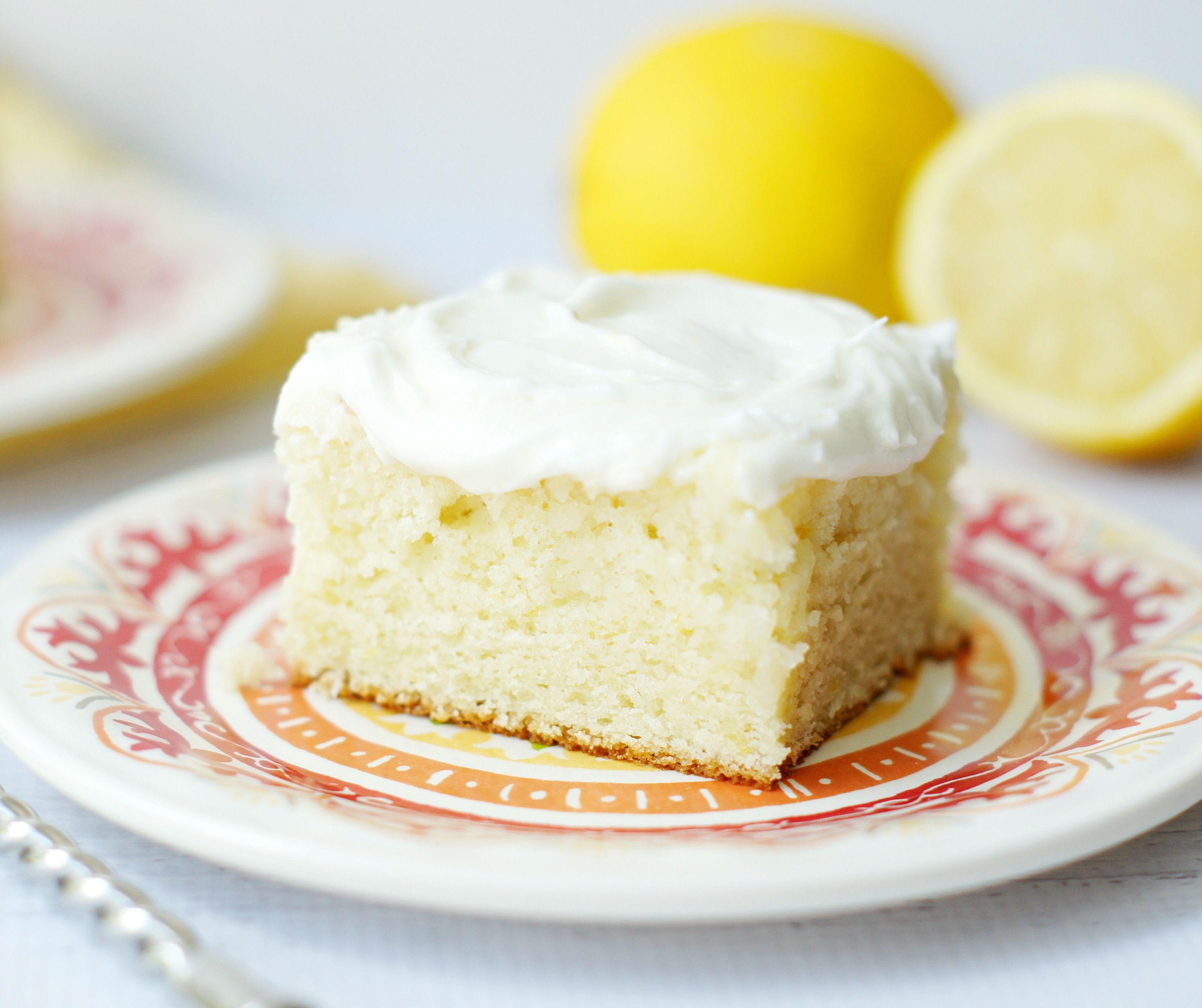 Lemon Cake With Sour Cream Lemon Icing 5 Boys Baker Recipe Sour Cream Cake Lemon Cake Recipe Lemon Icing