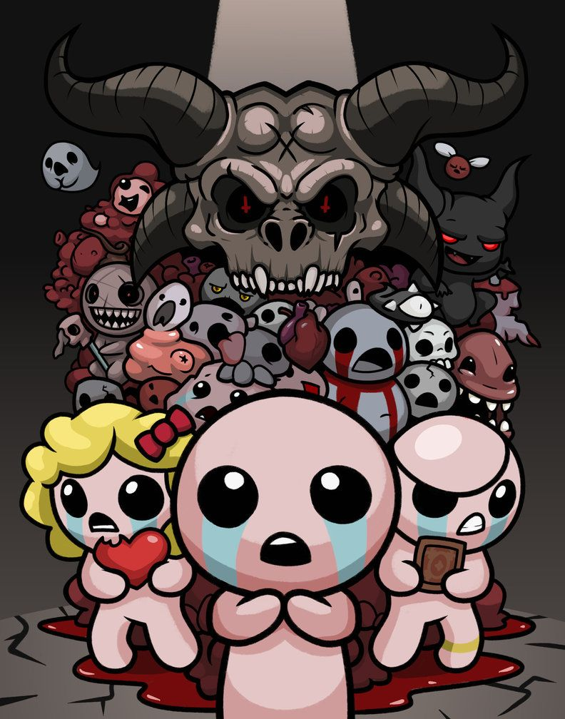 The Binding Of Isaac Rebirth Poster The Binding Of Isaac Isaac Rebirth