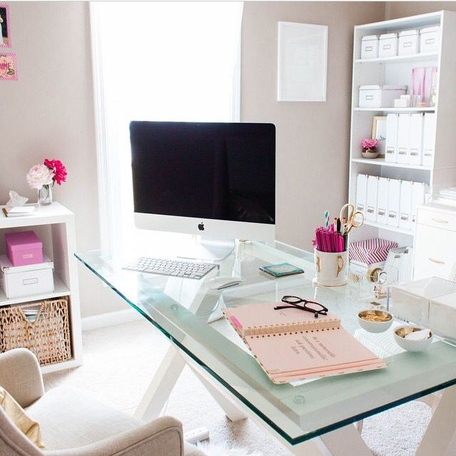 colorful feminine office furniture. Interesting Furniture I Want An Office Like This In Colorful Feminine Office Furniture