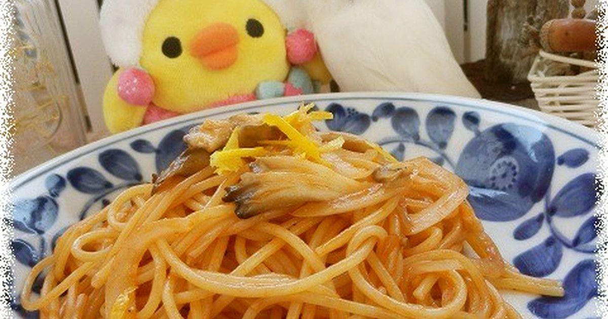 柚子香るナポリタン♪ by 星のしっぽ [クックパッド] 簡単おいしいみんなのレシピが256万品