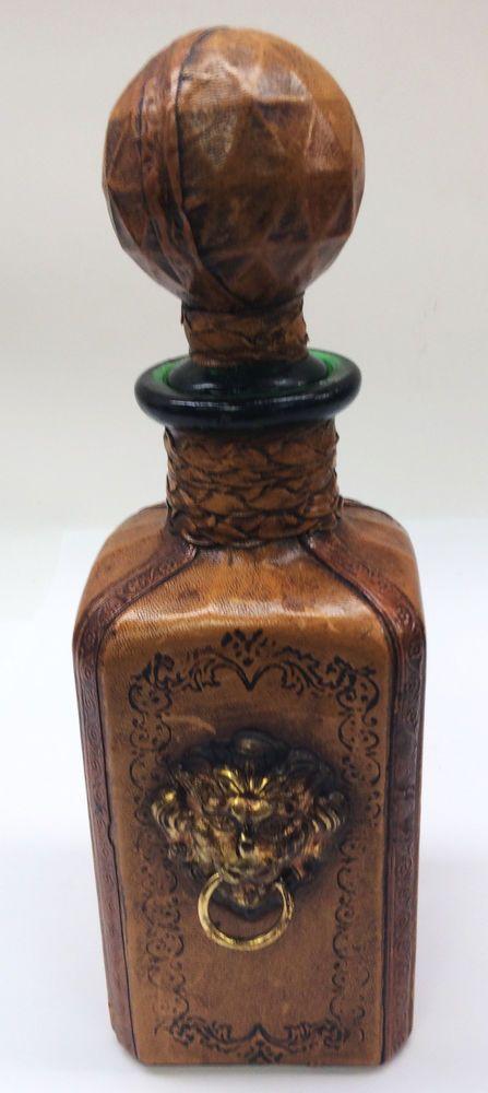 Green Wine Bottle Vase