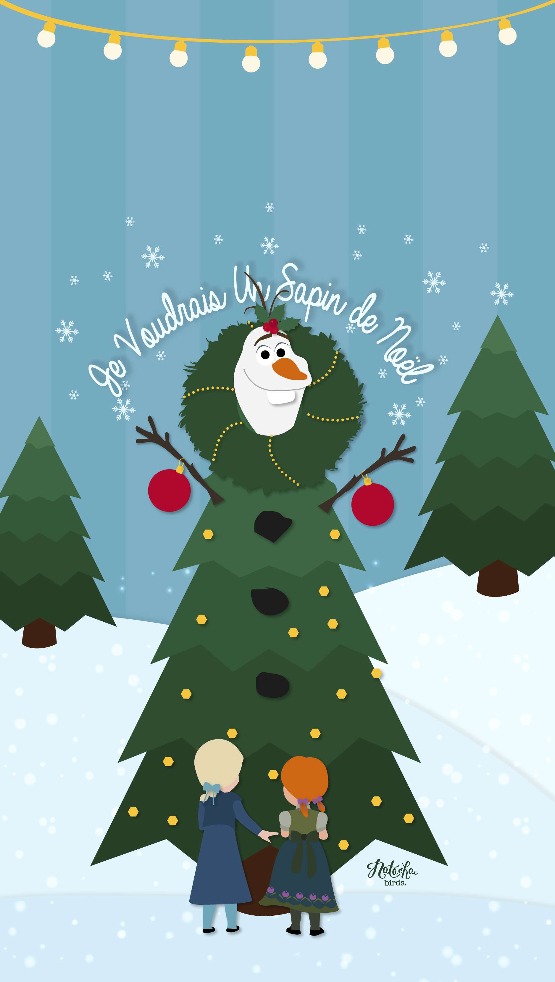 olaf #wallpaper #christmas | Disney Wallpapers for iPhones ...