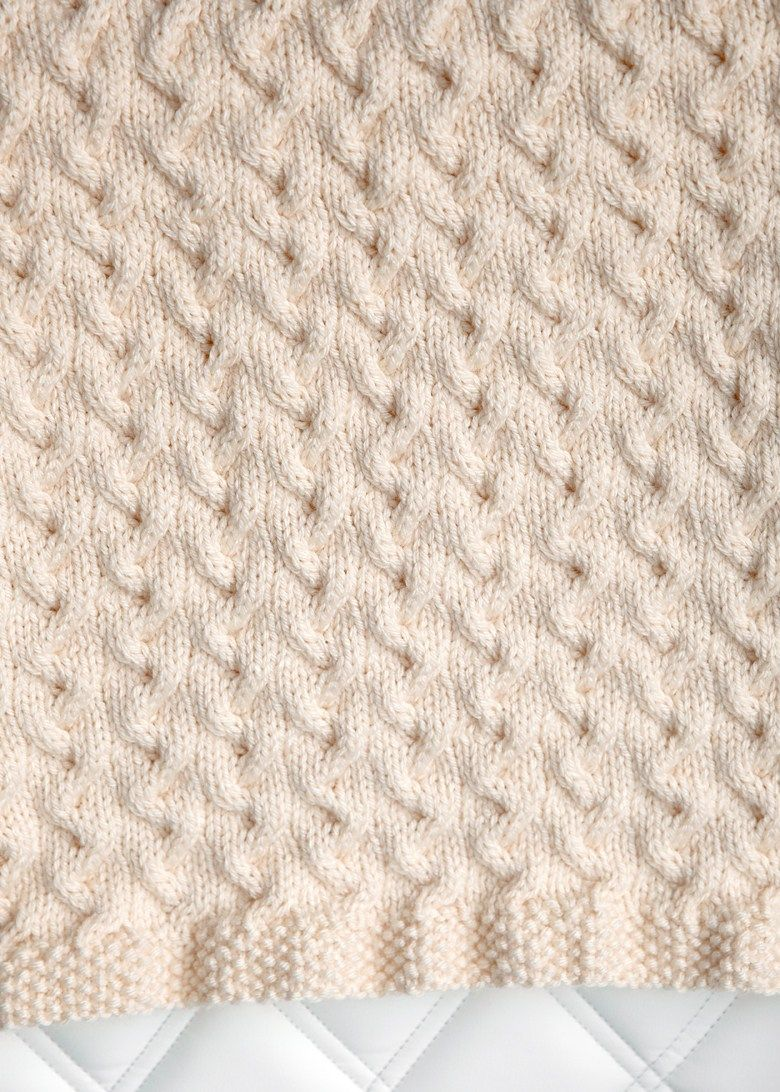 c0c6a2ded Free Baby Blanket Knitting Pattern 3 …