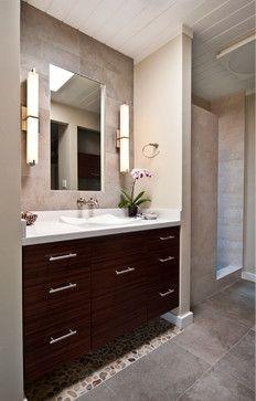 Rosewood Bathroom By Yana Mlynash Contemporary