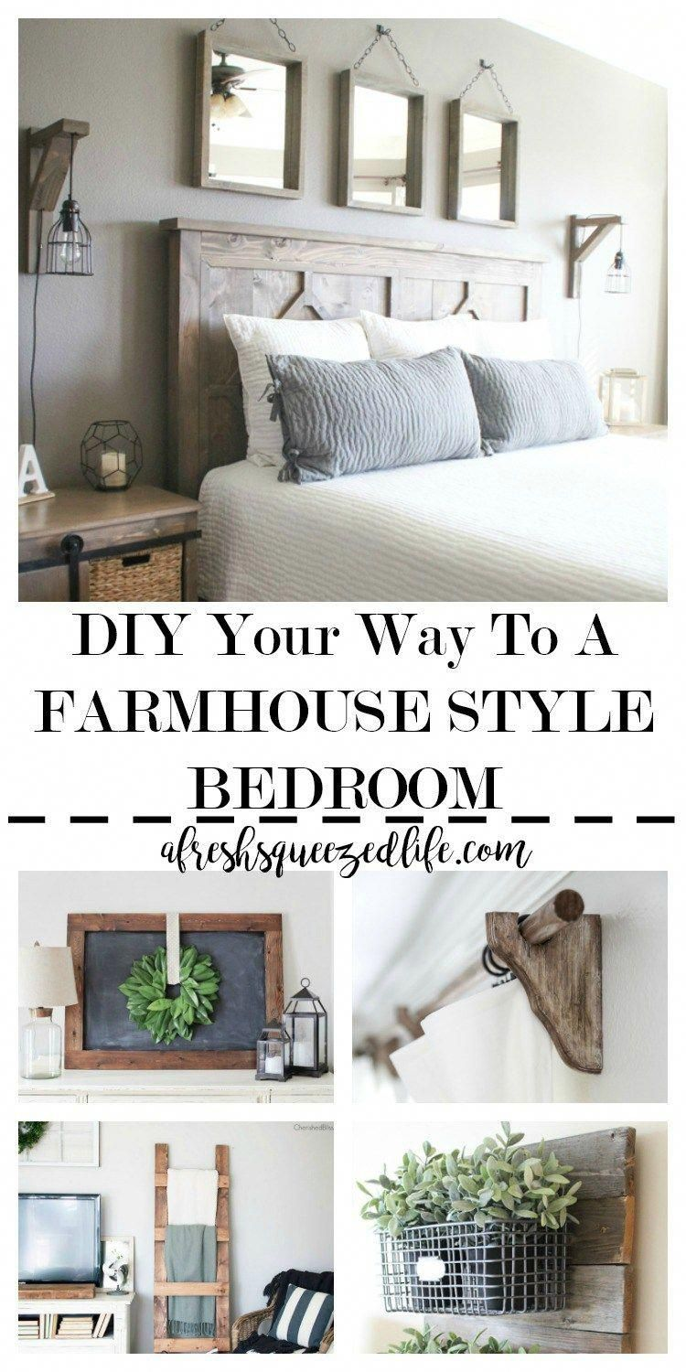 Have you been wanting to add some farmhouse style touches to your
