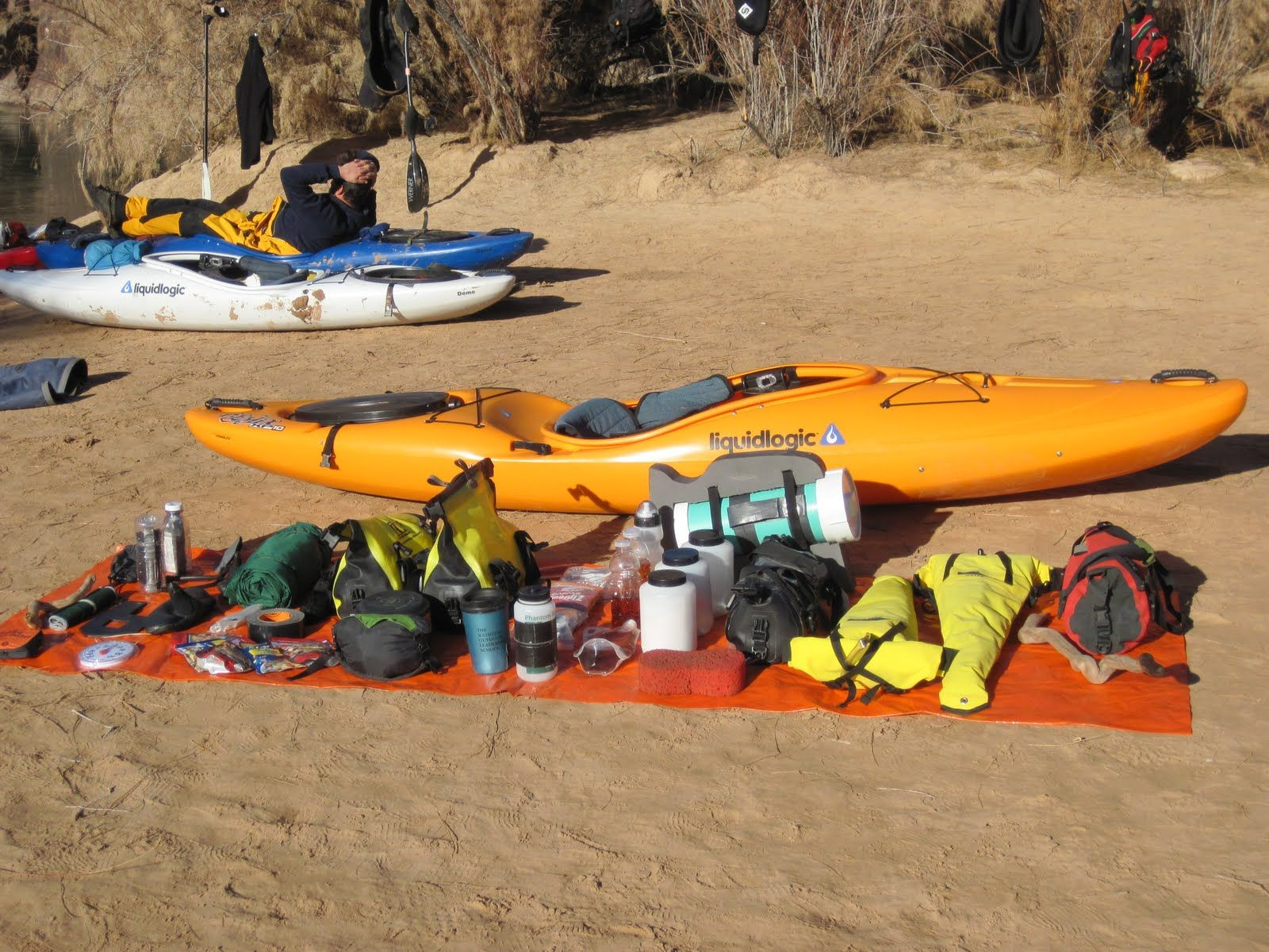 EXCELLENT Site on kayak camping Let s Go Camping