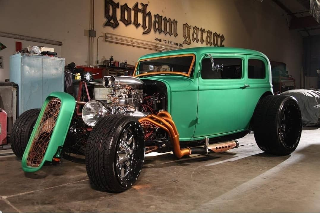 Gotham Garage Ford Vicky Hot Wheels Rods Vintage Cars