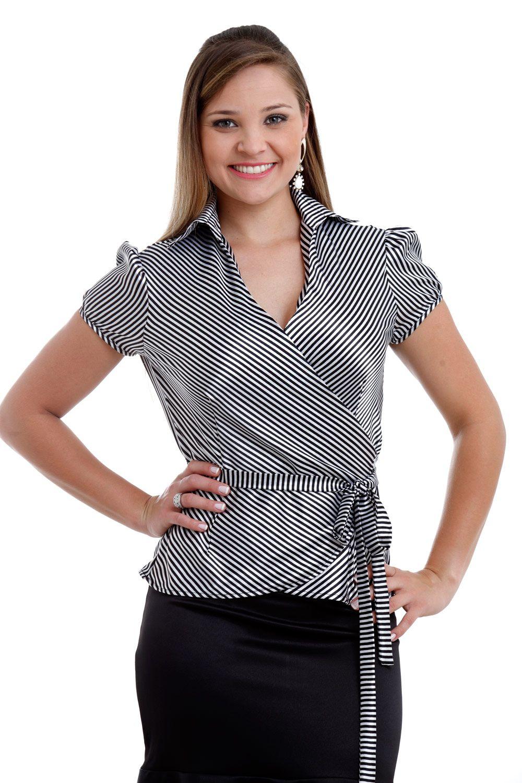 0faa056943 blusa transpassada tecido fino - Pesquisa Google