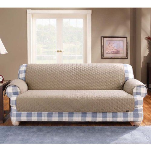 Cotton Duck Loveseat Cover