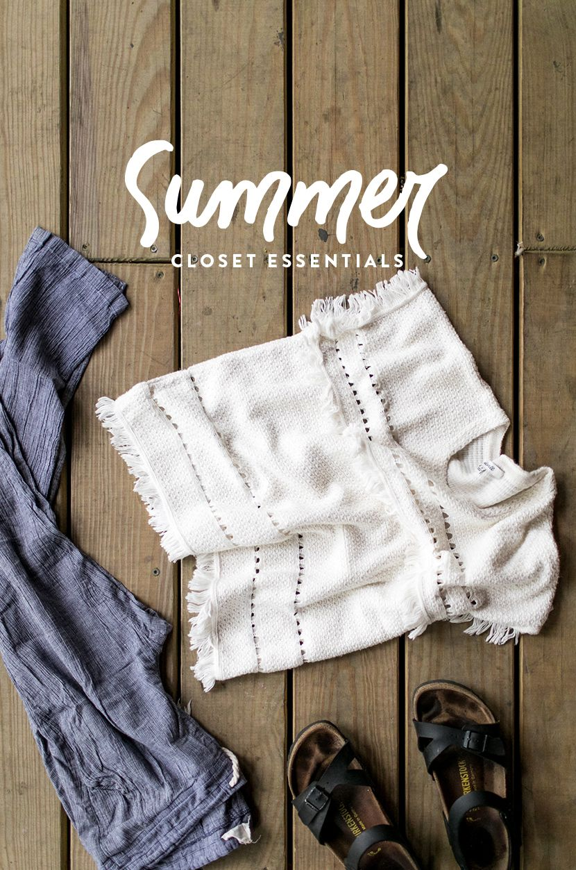 Summer Wardrobe Essentials for your Seasonal Closet on The