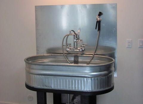 Galvanized Steel Feeding Bin Pet Washing Station With Images
