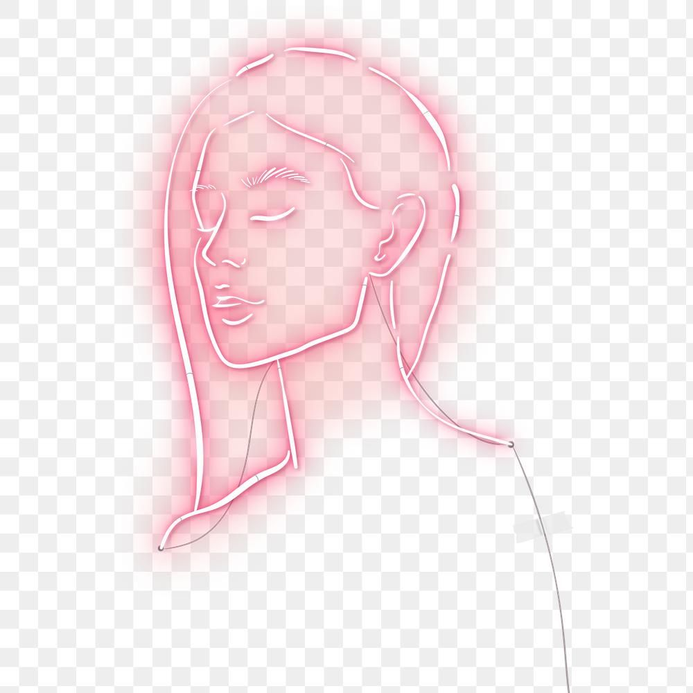 Feminine Neon Sign Design Resource Transparent Png Premium Image By Rawpixel Com Marinemynt Neon Typography Sign Design Neon Signs