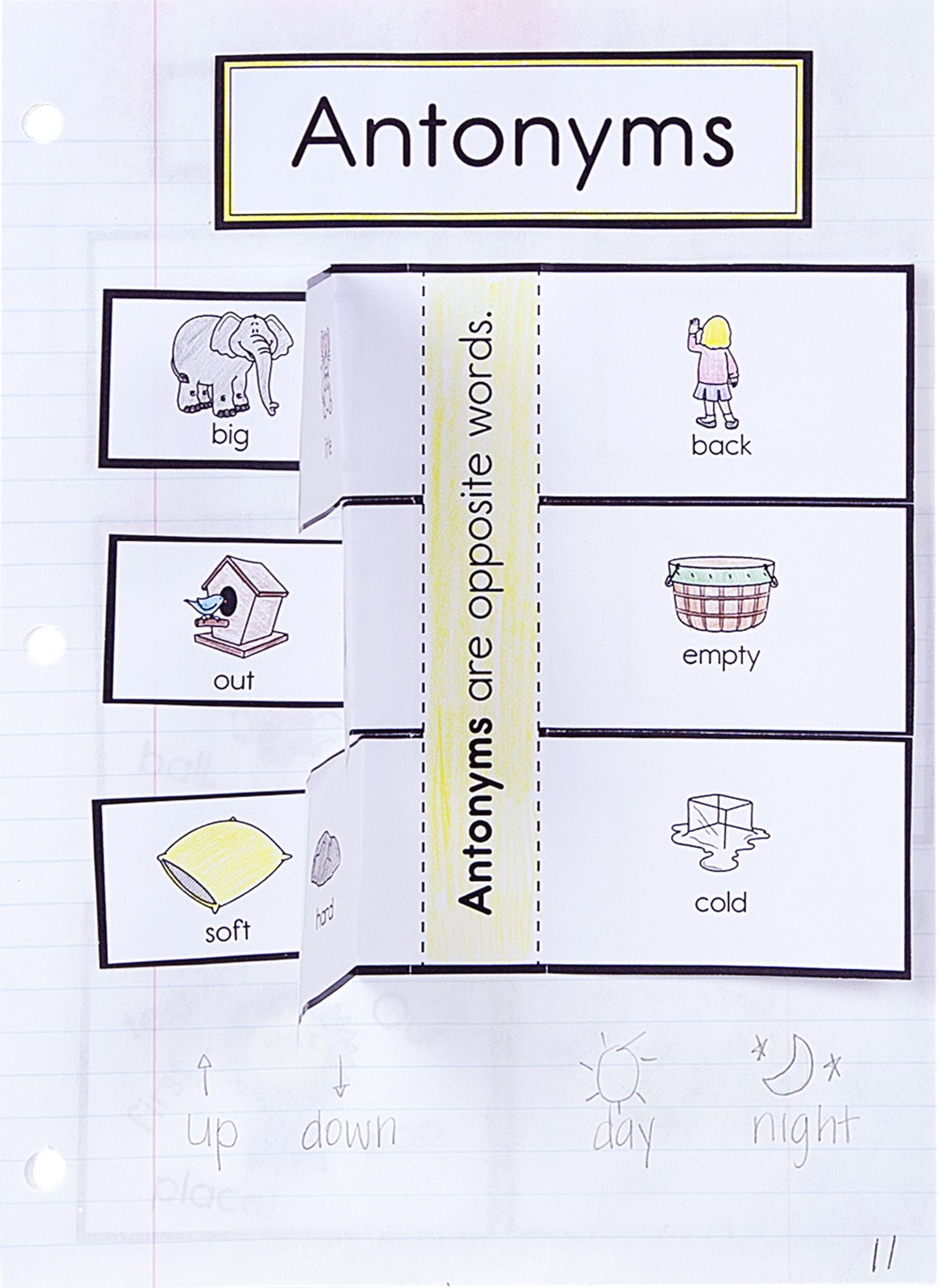 Fun activity for students to learn about antonyms from our new