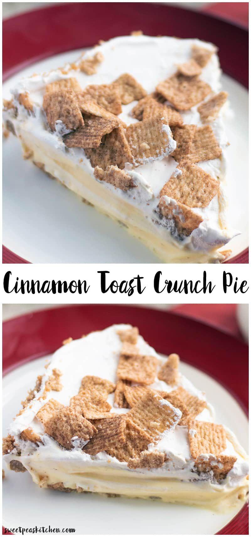 Cinnamon Toast Crunch Pie